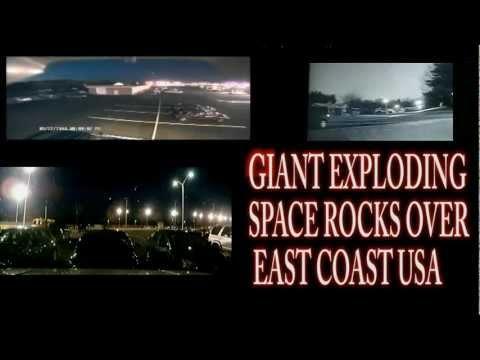 NY EastCoast FireBall Meteor looks like a UFO 3 diff Videos ZOOMED – Oreo Asteroid