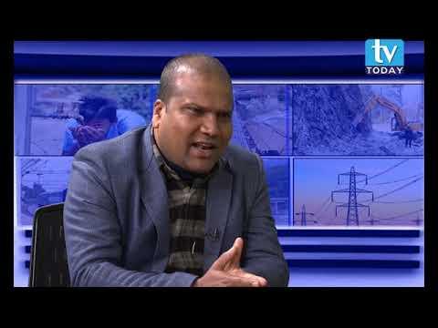 (Sajeev Kumar Saha, Mayor, Bhangaha Municipality (Nagarpalika), Mahottari Talk show on TV Today - Duration: 26 minutes.)