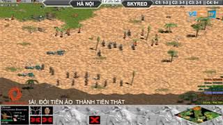 Hà Nội vs Skyred, Ngày 13/10/2015, C3T4, game đế chế, clip aoe, chim sẻ đi nắng, aoe 2015