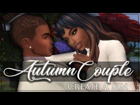 The Sims 4 Seasons Create A Sim: Autumn Couple + CC List (видео)