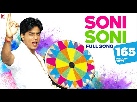 Soni Soni Full Song | Mohabbatein | Shah Rukh Khan, Aishwarya Rai | Jatin-Lalit, Anand B | Holi Song