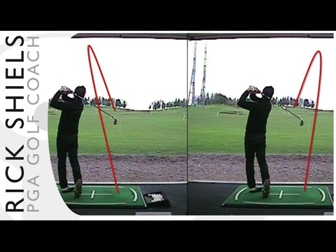 How to hit a draw or a fade | Rick Shiels PGA Golf Lesson