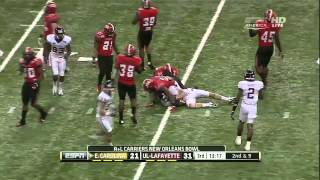 Melvin White vs Florida & East Carolina (2012)