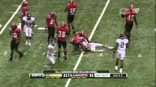 Melvin White vs Florida & East Carolina (2012)
