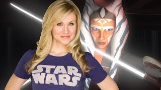 Ashley Eckstein Talks Her Universe and Ashoka's Future - Comic Con 2016 by IGN
