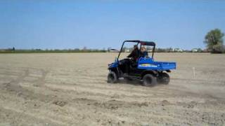 1. New Holland rustler 120 bij www.tuinmachines.com