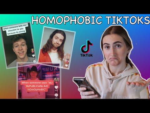 REACTING TO HOMOPHOBIC TIKTOKS