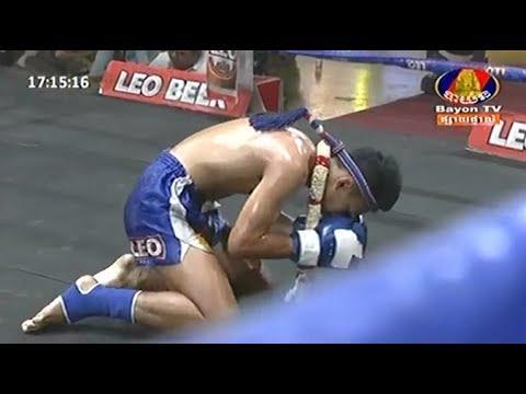 Chan Sinath vs Hanhserklek(thai), Khmer Boxing Bayon 20 May 2018, Kun Khmer vs Muay Thai