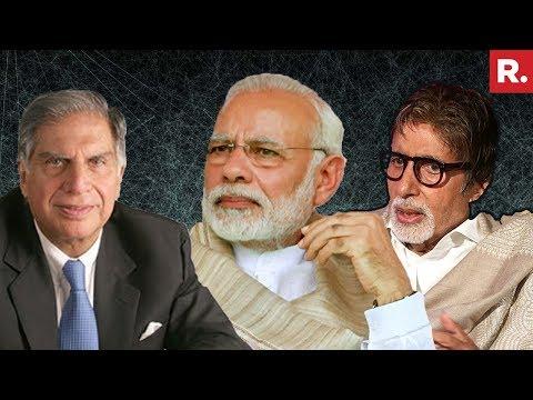 Amitabh Bachchan And Ratan Tata Join PM Narendra Modi's 'Swachhata Hi Seva' Drive