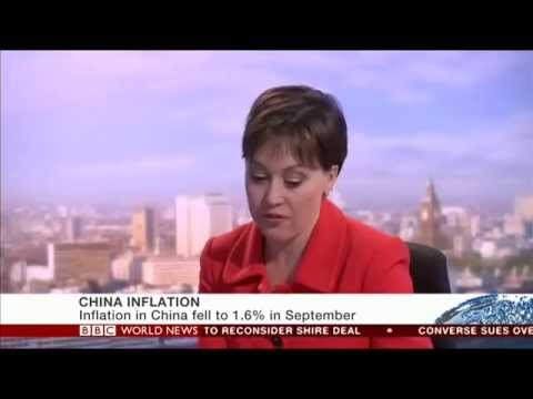 economic slowdown - ODI's Judith Tyson speaks to BBC World News about the economic slowdown in China being a lot worse than expected 15 Oct 2014.