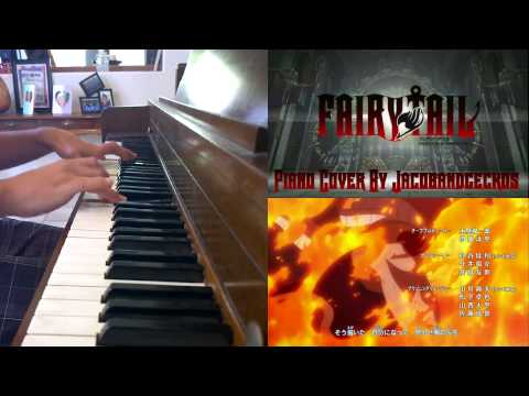 Fairy Tail Opening 15 Piano Cover (Masayume Chasing) (видео)