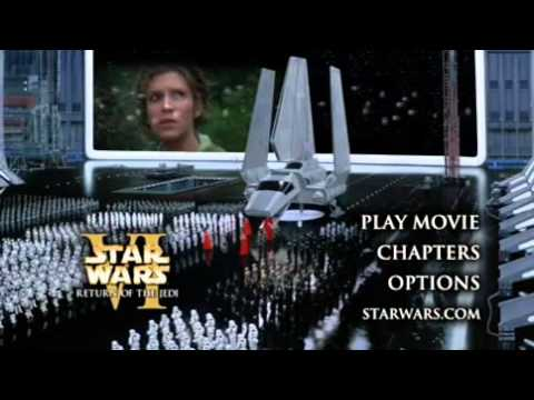 Star Wars Episode VI Return Of The Jedi DVD Menu 2