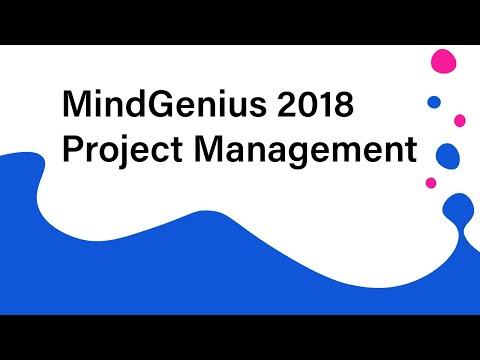 Project Management with MindGenius 2018
