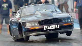 Aston Martin Drag Car - Beauty meets BEAST! by 1320Video