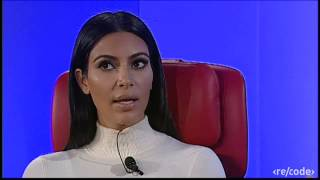 Kim Kardashian West Interview at Re/code's Code Mobile