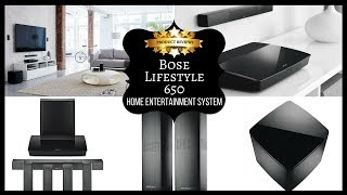 Bose Lifestyle 650 Home Entertainment System | Home Audio & Theater Speaker System
