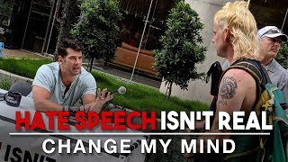 Hate Speech Isn't Real (Google Edition) | Change My Mind