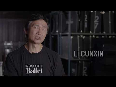 Li Cunxin in rehearsal for The Nutcracker