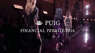 Puig Financial Results 2016
