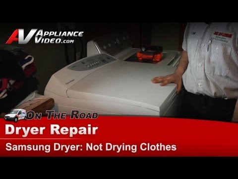 Fisher and Paykel Dryer Repair – Not drying clothes – DEGX296102BUS
