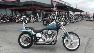 10. 052744 - 2005 Harley Davidson Softail Standard   FXSTI - Used motorcycles for sale