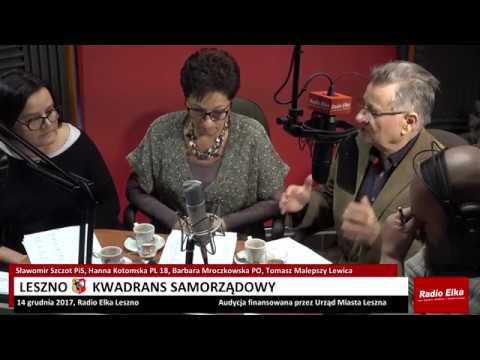 Wideo1: Leszno Kwadrans Samorządowy 14 grudnia 2017