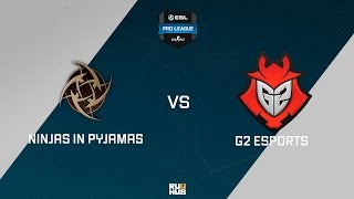 NiP vs G2, game 1