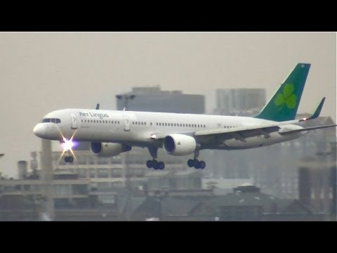 There's A New Shamrock In Town! Aer Lingus 757 To Boston