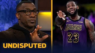 Skip and Shannon disagree on LeBron James calling himself the GOAT | NBA | UNDISPUTED