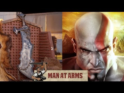 MAN AT ARMS Blades of Chaos God of War