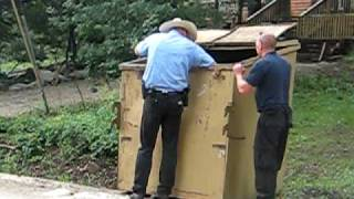 Video bear cubs rescued from dumpster by ranger in ruidoso, nm  july 2010 MP3, 3GP, MP4, WEBM, AVI, FLV Oktober 2017