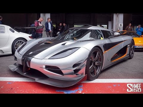 Koenigsegg One:1 - Hot Laps at Spa with Adrian Sutil [4K]