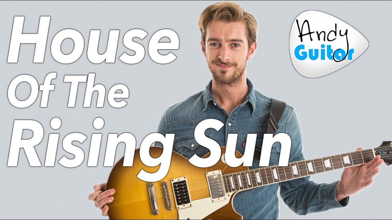HOUSE OF THE RISING SUN Guitar Lesson – EASY Beginner Guitar Tutorial