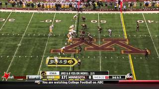 Brock Vereen vs Iowa (2013)