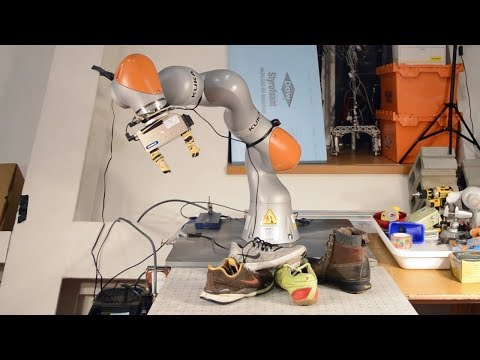 robot, seeing, computer vision, self-learning