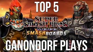 EvenMatchupGaming – Top 5 Super Smash Brothers Melee Ganon Plays
