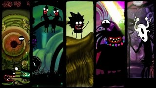 """Karma. Incarnation 1 Release Offical Trailer Gameplay #karmaincarnation Online Mobile Games For Kids""""Karma. Incarnation 1."""" is a 2D point-and-click adventure, that explores a love story between two beautiful souls through ingenious humour and a bizarre, hand-drawn, frame-by-frame animation style. Our hero's beloved has been abducted by evil spirits, and the only way to reunite them is to reincarnate himself as a dragon to defeat Evil. But something has gone wrong, and his soul is reborn as a worm named Pip. Now Pip must overcome the challenges of a surreal world, solve mind bending puzzles, and save his love. Choosing between good and evil, Pip learns the laws of Karma, and his choices define the outcome of the game.FeaturesPlay as Pip and explore a rich, bizarre world.Use Astral sight, a power that allows you to peek into the world of spirits at any point of the game.Learn Karma laws through choice and action. Each evil deed spoils Pip's karma and changes his appearance. Good deeds purify karma. Key characters respond differently to Pip's karma, opening additional storyline.Hand-drawn animations of the varied interactions of Pip with his strange environment. The environment and other characters of the quests are drawn individually for each situation.Live magical award winning music and sound by ZMEIRADUGA"""