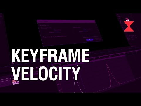 Tutorial | Keyframe Velocity En After Effects