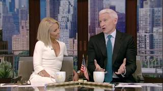 Anderson Cooper talks about his first time skydiving.