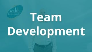 Team Development - Webb Development