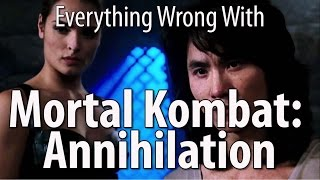 Everything Wrong With Mortal Kombat Annihilation by Cinema Sins
