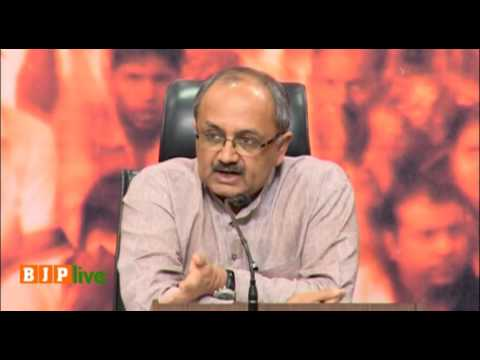 Press Conference by Shri Sidharth Nath Singh at BJP HQ: 31.08.2016