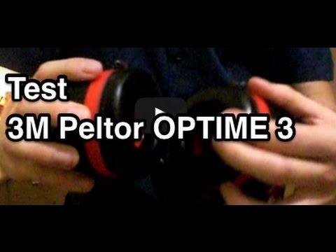 Test 3M Peltor OPTIME 3 / III H540A | Peltor Optime III | Gehörschutz Test  | Kapselgehörschützer