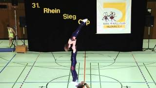 Lisa Janssen & Falk Scheibe-In der Stroh - 31. Rhein-Sieg-Cup 2013