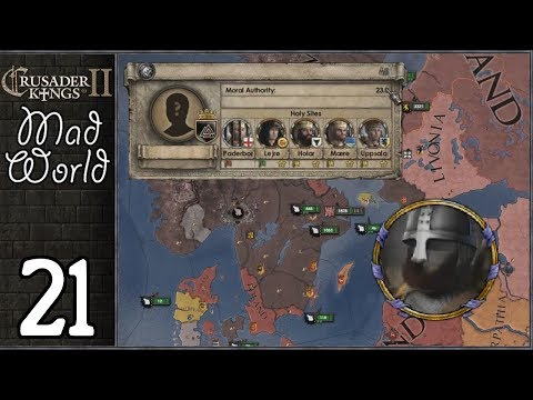 Crusader Kings 2: Mad World #21 - Reformation And The Invisible Demon