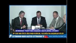 Uluocak, CHP Adayı Fazlıoğlu'na başarılar diledi