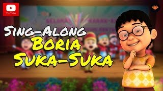 Video Upin & Ipin - Boria Suka-Suka [Sing-Along] MP3, 3GP, MP4, WEBM, AVI, FLV September 2018