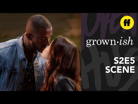 grown-ish Season 2, Episode 5 | Aaron & Ana's First Kiss | Freeform