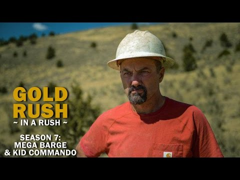 Gold Rush | Season 7, Episode 9 | Mega Barge & Kid Commando - Gold Rush in a Rush Recap