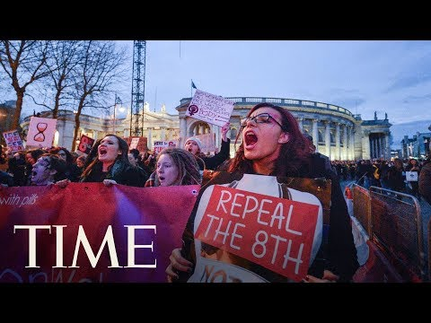 Ireland May Be About To Repeal One Of Europe's Strictest Abortion Laws   TIME (видео)